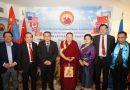 金刚法王和平慈善基金会启动仪式在联合国举行