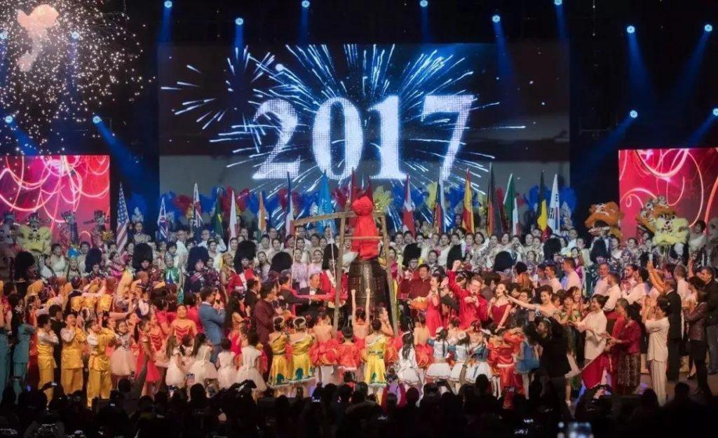 《海外春晚》向全球征集优秀节目-中国传真