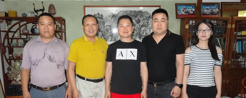 基金会主席张士兴会见协会香港理事陈学刚、李家辛
